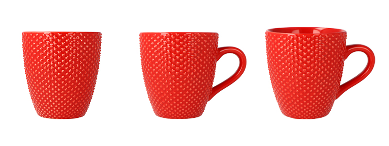 Product photos of a cup