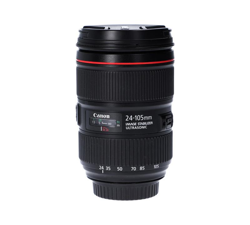 Focal length scale on a lens