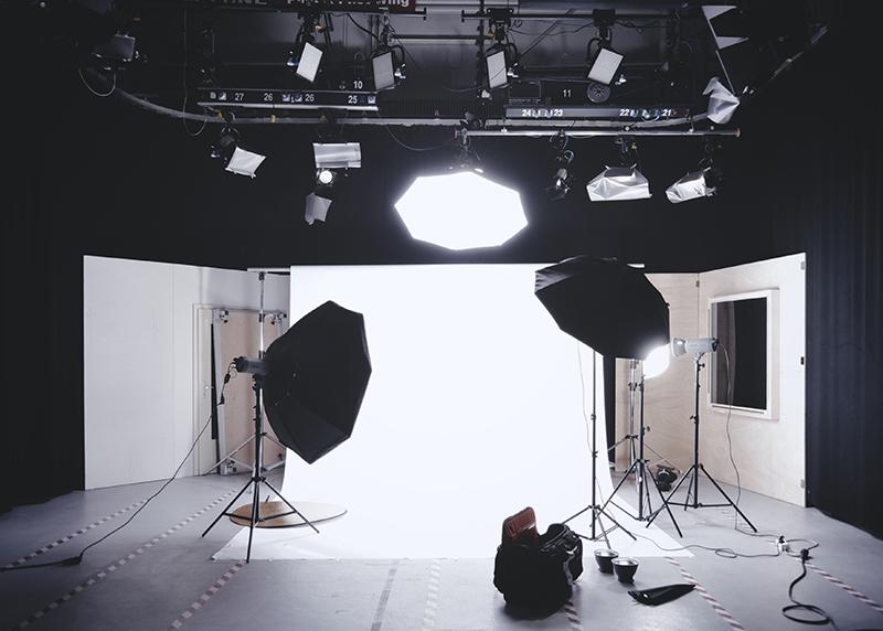 A traditional photo studio