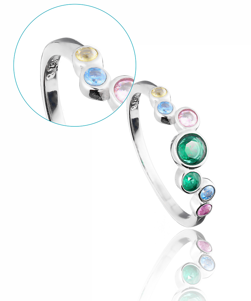 jewelry product photography after intensive smoothing
